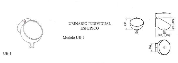 urinario esférico